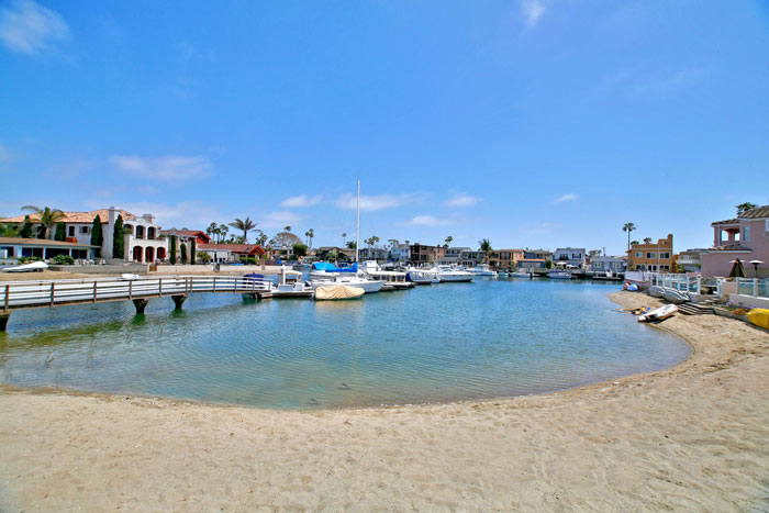 Balboa Coves Community in Newport Beach, California