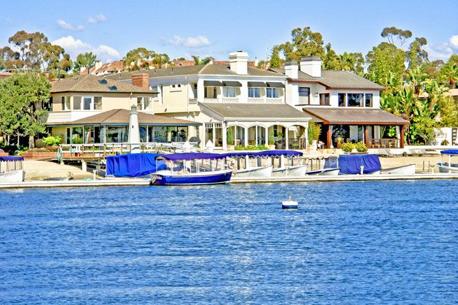 View Bayfront Homes in Newport Beach
