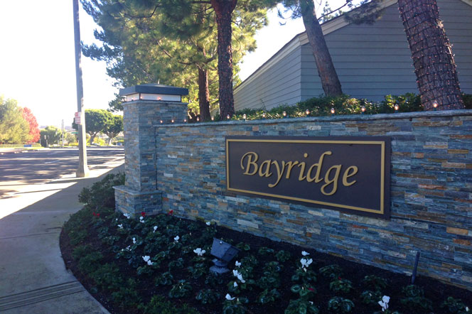 Bayridge Gated Community in Newport Beach, California