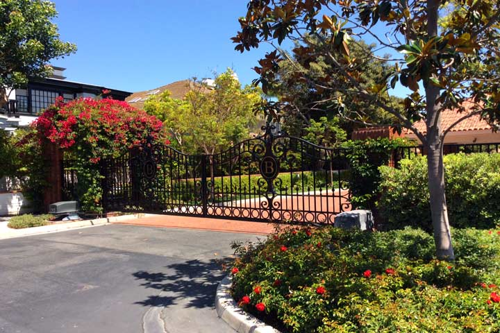 Belcourt Gated Community in Newport Beach, California