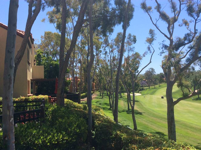 Big Canyon Villas Golf Course Views in Newport Beach, California