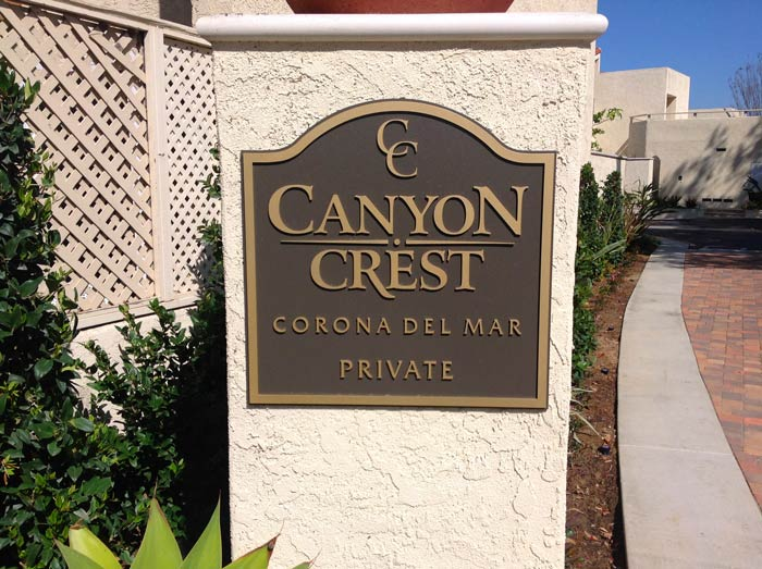 Canyon Crest Community in Corona Del Mar, California