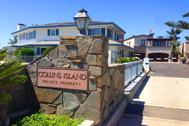 Collins Island Community in Newport Beach, California