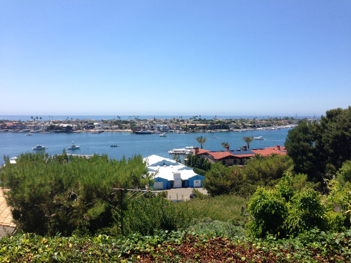 Corona Del Mar South Harbor and Ocean Views in Newport Beach, CA