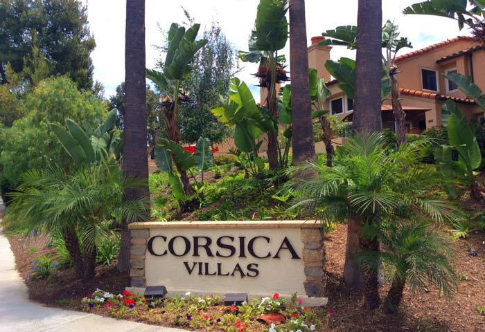 Corsica Villa Townhomes in Newport Beach, California