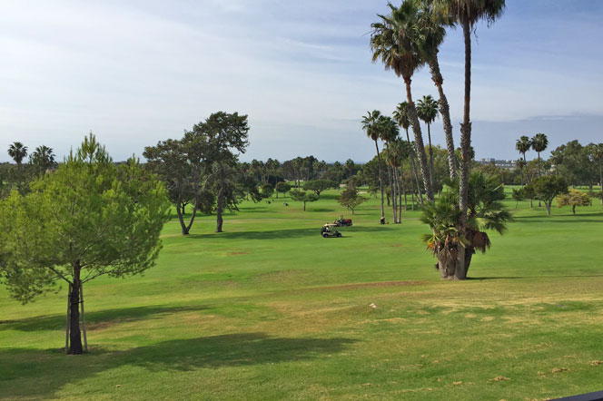 Granville Newport Beach Community Golf Course Views