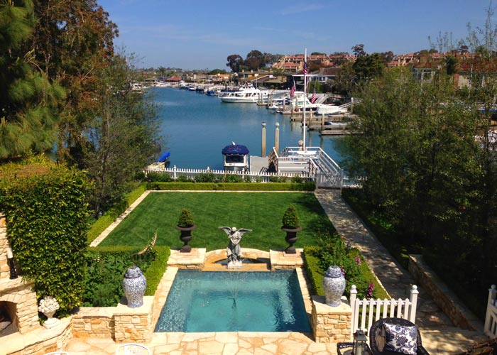 Harbor Island Home with a Boat Dock in Newport Beach, CA