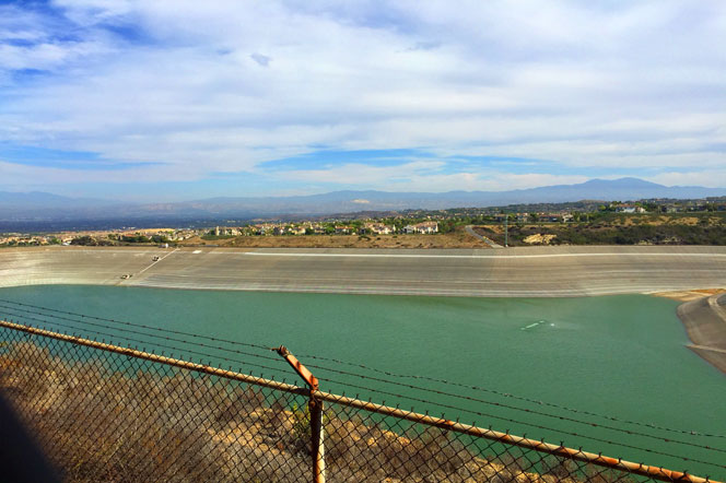 Harbor Ridge Community Reservoir in Newport Beach, California