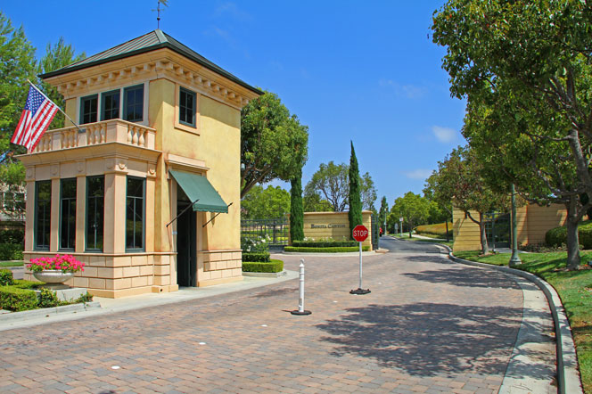 View Gated Community Homes in Newport Beach