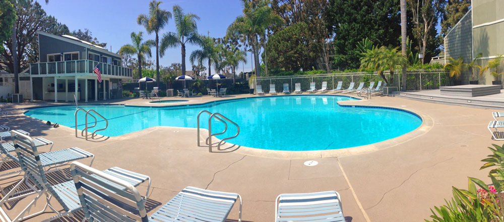 Newport Crest Community Pool | Newport Beach Real Estate