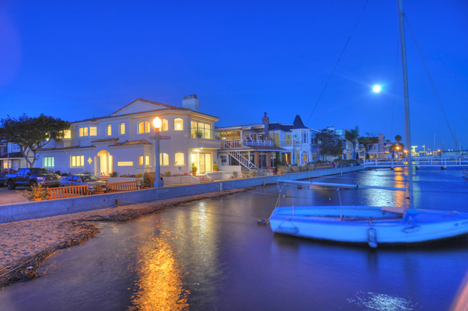 Balboa Island Water Front Homes | Newport Beach Real Estate