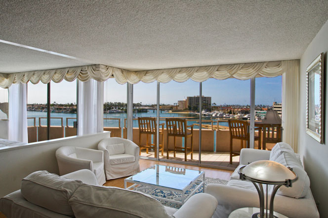 Newport Beach Ocean View Condos For Sale