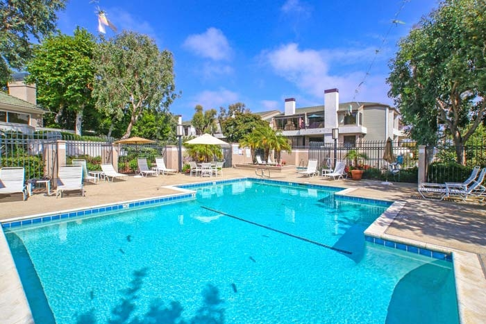 Villa Balboa Community Pool in Newport Beach, CA