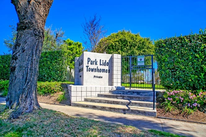 Park Lido Townhomes | Newport Beach Real Estate