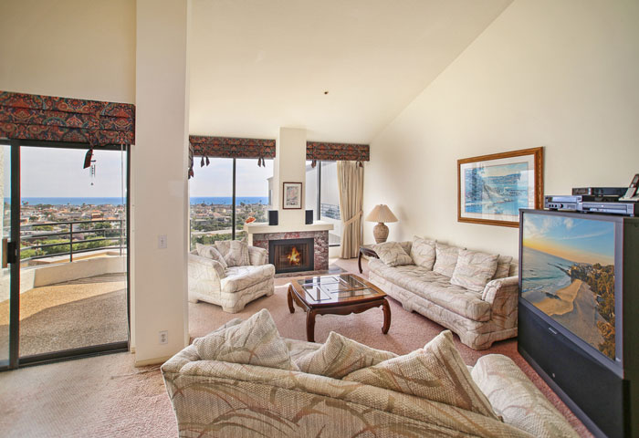 Villa Balboa Ocean View Condo in Newport Beach, California