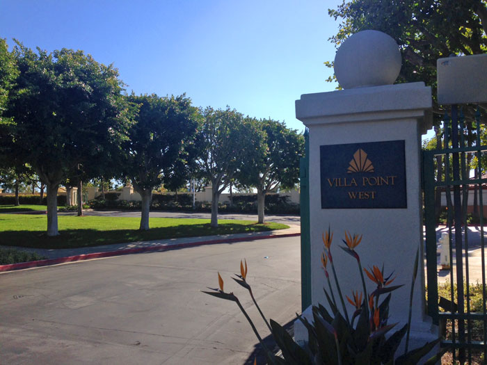 Villa Point West Community in Newport Beach, California