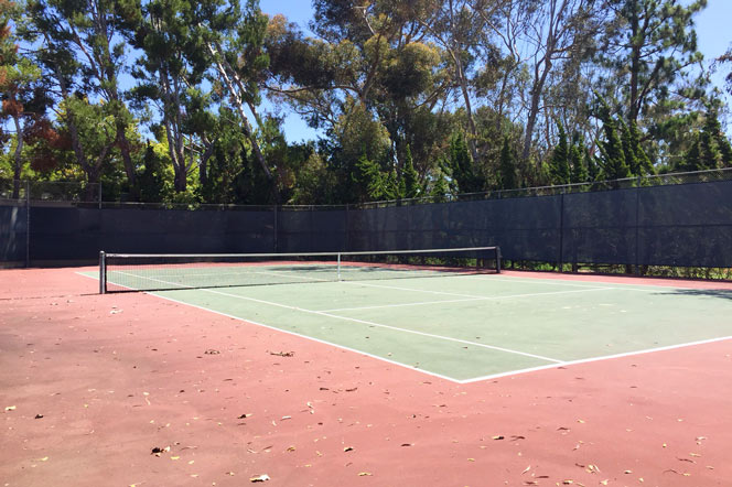 Big Canyon McLain Tennis Courts