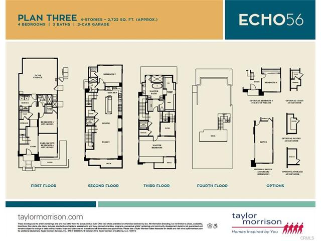 Echo 56 Plan Three Floor Plan