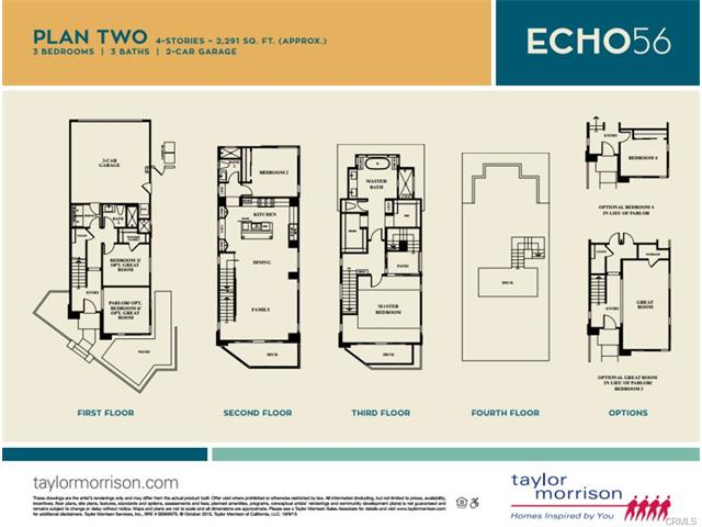 Echo 56 Plan Two Floor Plan