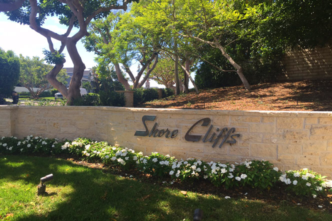 Shore Cliffs Newport Beach Community